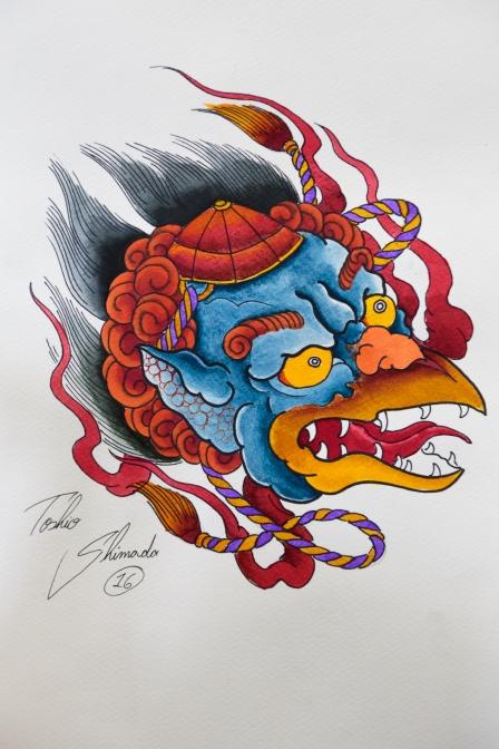 Tengu por Toshio Shimada