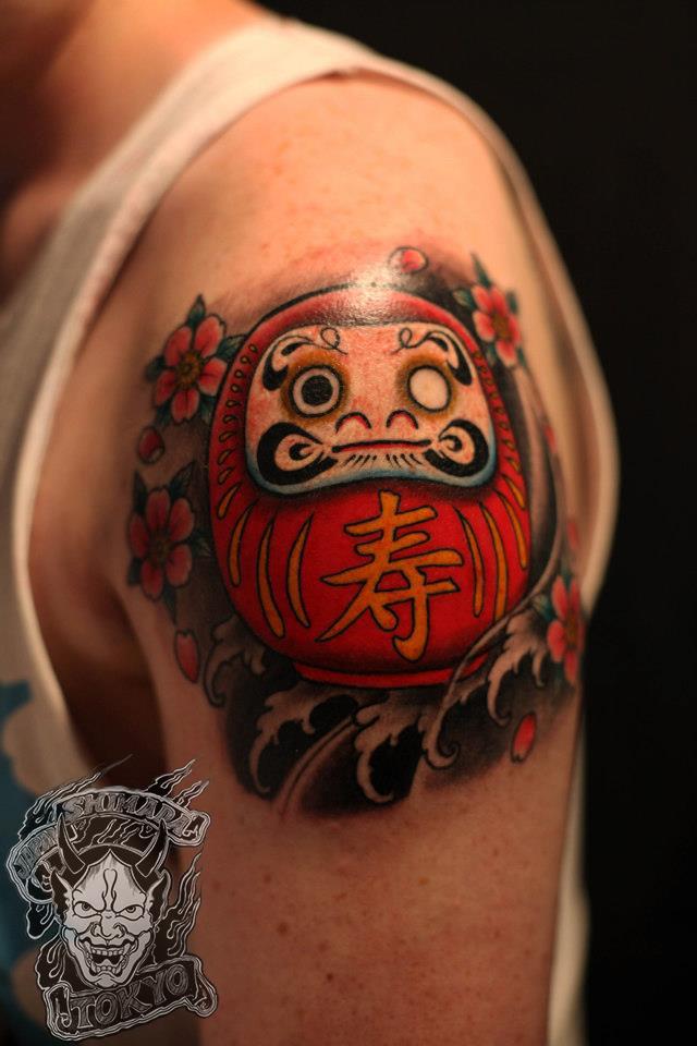 Daruma Tattoo Shimada Picture