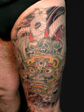 Tatuagem por Toshio Shimada